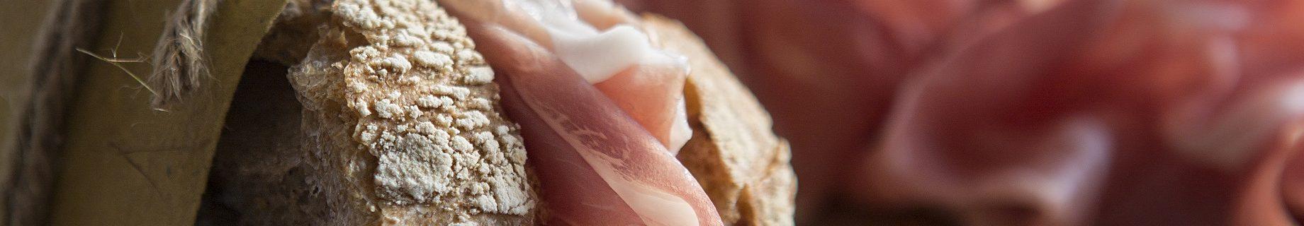 Panino con prosciutto di San Daniele Prolongo